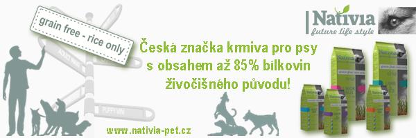 Nativia - kvalitní kompletní krmiva pro psy a ko�ky